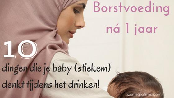 Borstvoeding ná 1 jaar (2)