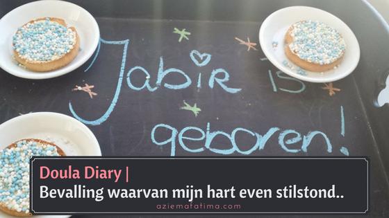 Doula Diary: Bevalling waarvan mijn hart even stilstond