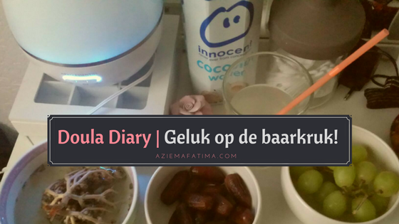 Doula Diary | Geluk op de baarkruk!