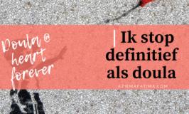Persoonlijk | Ik stop definitief als doula