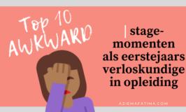 Top 10 AWKWARD stagemomenten als eerstejaars verloskundige-in-opleiding